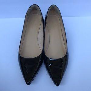 KATE SPADE black patent heels size 11